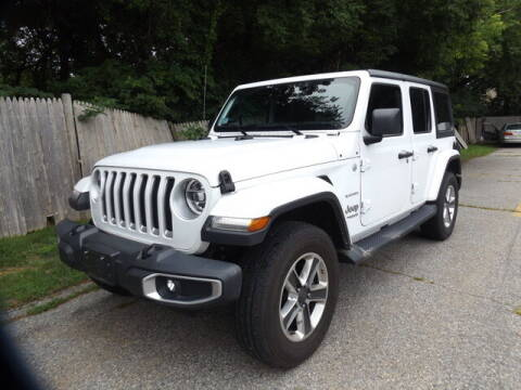 2018 Jeep Wrangler Unlimited for sale at Wayland Automotive in Wayland MA