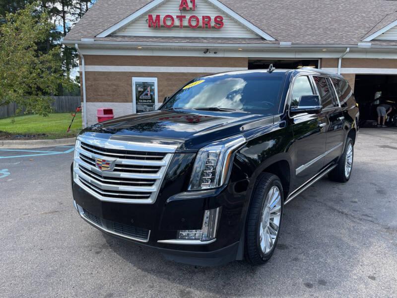 2017 Cadillac Escalade ESV for sale at A 1 Motors in Monroe MI