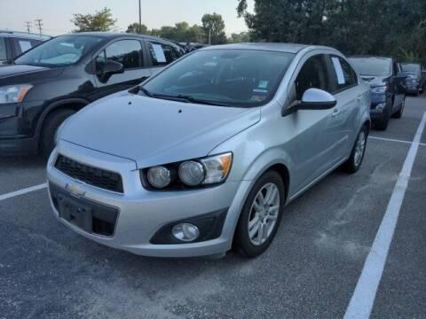 2012 Chevrolet Sonic for sale at Strosnider Chevrolet in Hopewell VA