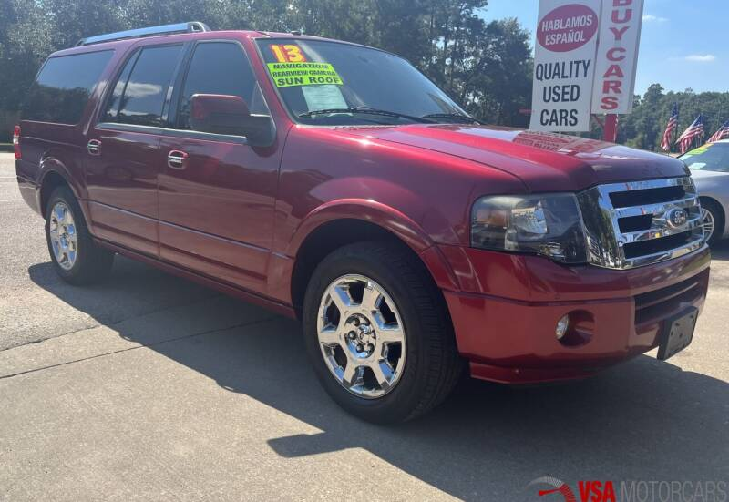2013 Ford Expedition EL for sale at VSA MotorCars in Cypress TX