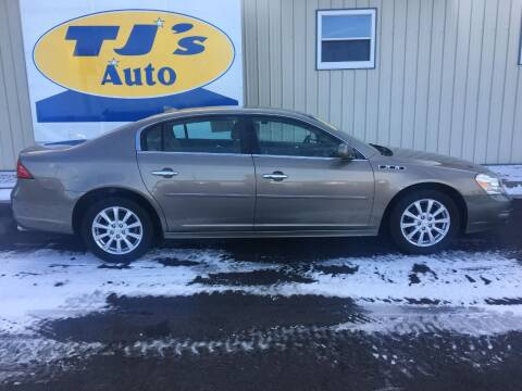 2011 Buick Lucerne for sale at TJ's Auto in Wisconsin Rapids WI