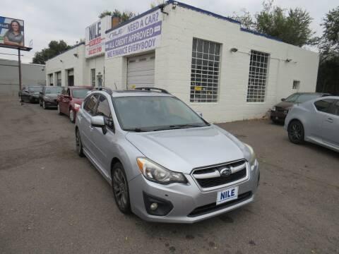 2012 Subaru Impreza for sale at Nile Auto Sales in Denver CO
