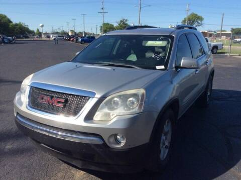 2007 GMC Acadia for sale at All Affordable Autos in Oakley KS