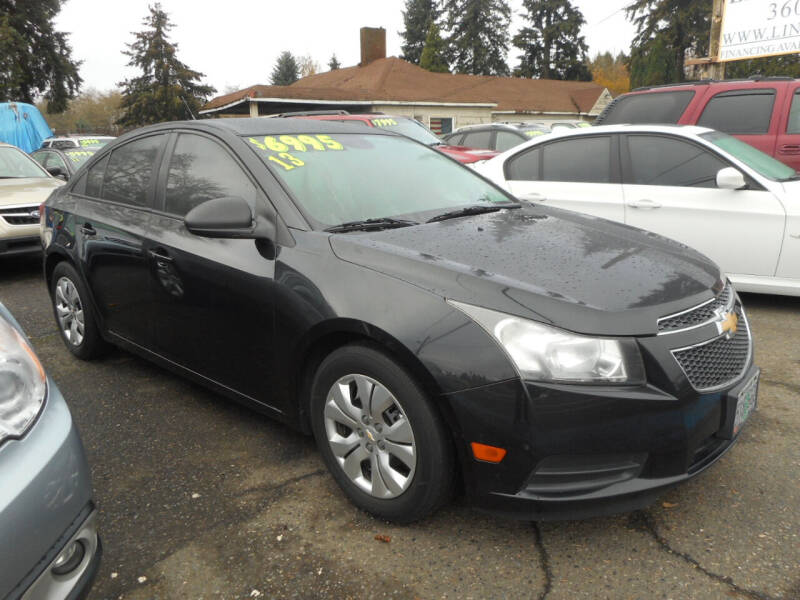 2013 Chevrolet Cruze for sale at Lino's Autos Inc in Vancouver WA