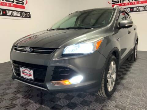 2014 Ford Escape for sale at SIRIUS MOTORS INC in Monroe OH