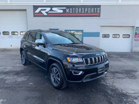 2019 Jeep Grand Cherokee for sale at RS Motorsports, Inc. in Canandaigua NY