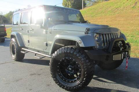 2014 Jeep Wrangler Unlimited for sale at Tilleys Auto Sales in Wilkesboro NC