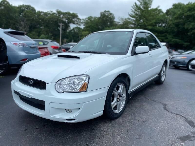 2004 Subaru Impreza for sale at SOUTH SHORE AUTO GALLERY, INC. in Abington MA