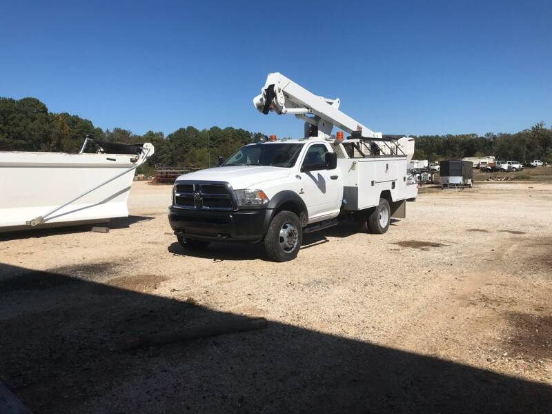 2015 RAM Ram Chassis 5500 for sale at Ramsey Truck Sales LLC in Benton AR