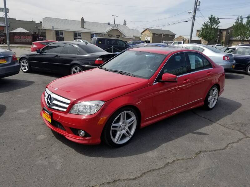 2010 Mercedes-Benz C-Class for sale at Cool Cars LLC in Spokane WA