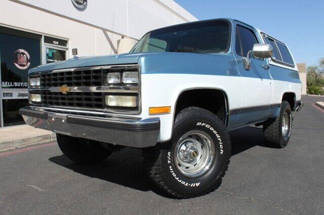 1989 Chevrolet Blazer for sale in Scottsdale, AZ