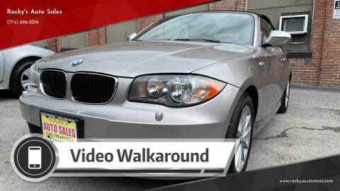 2011 BMW 1 Series for sale at Rocky's Auto Sales in Worcester MA