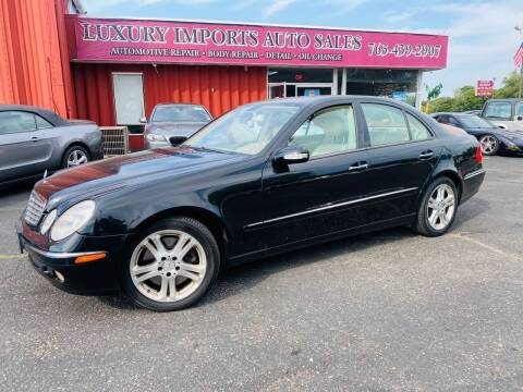 2005 Mercedes-Benz E-Class for sale at LUXURY IMPORTS AUTO SALES INC in North Branch MN