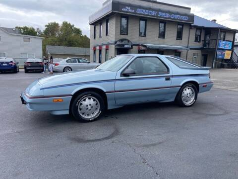 1987 Dodge Daytona for sale at Sisson Pre-Owned in Uniontown PA