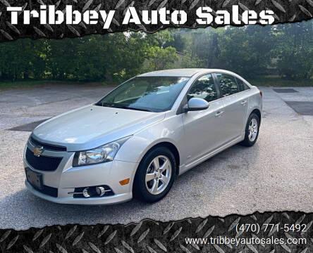 2012 Chevrolet Cruze for sale at Tribbey Auto Sales in Stockbridge GA