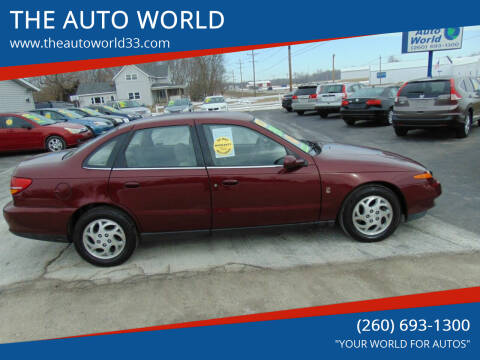 2002 Saturn L-Series for sale at THE AUTO WORLD in Churubusco IN