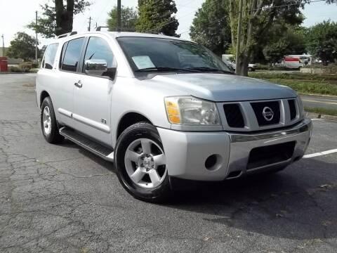 2005 Nissan Armada for sale at CORTEZ AUTO SALES INC in Marietta GA