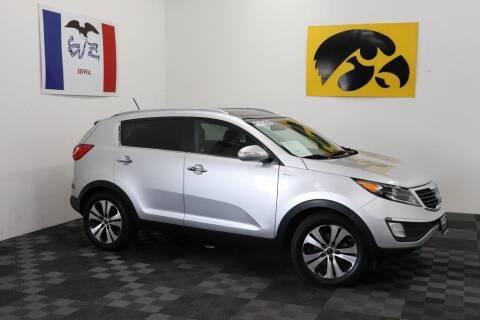 2013 Kia Sportage for sale at Carousel Auto Group in Iowa City IA