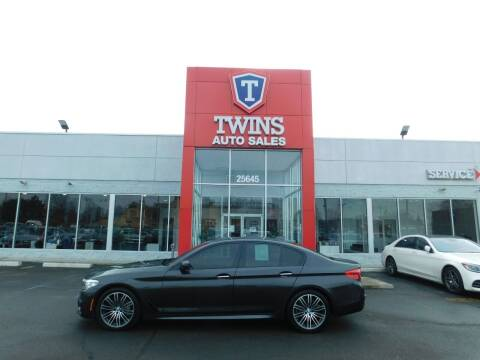 2018 BMW 5 Series for sale at Twins Auto Sales Inc Redford 1 in Redford MI