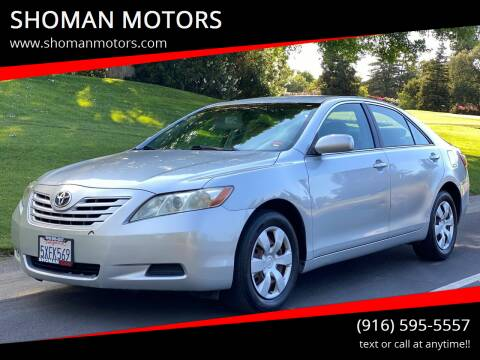 2007 Toyota Camry for sale at SHOMAN AUTO GROUP in Davis CA