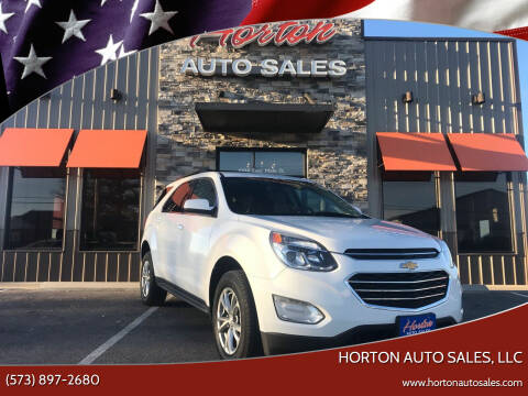 2017 Chevrolet Equinox for sale at HORTON AUTO SALES, LLC in Linn MO