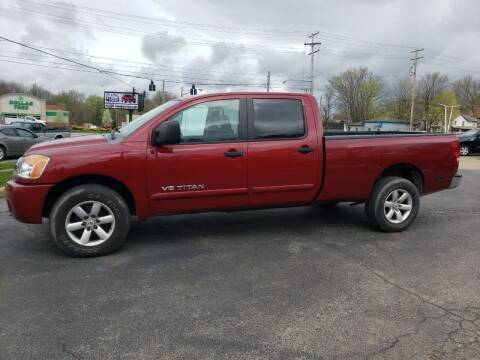 2008 Nissan Titan for sale at COLONIAL AUTO SALES in North Lima OH