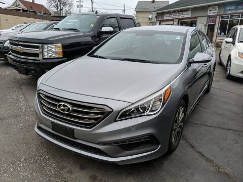 2015 Hyundai Sonata for sale at Richland Motors in Cleveland OH