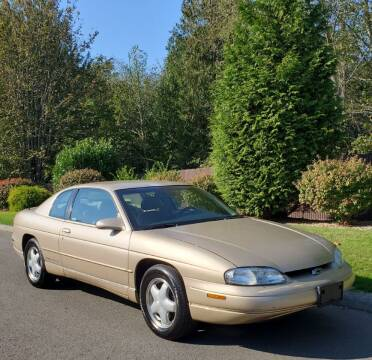 1998 Chevrolet Monte Carlo for sale at Money Man Pawn (Auto Division) in Black Diamond WA