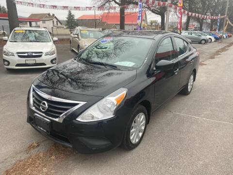 2016 Nissan Versa for sale at Midtown Autoworld LLC in Herkimer NY