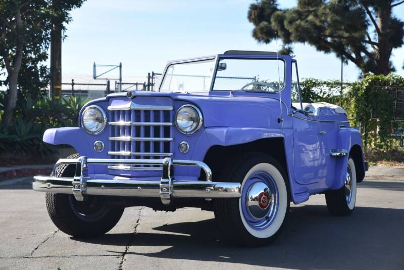1950 Willies Overland  Jeepster  for sale at Milpas Motors in Santa Barbara CA