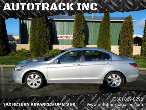2008 Honda Accord for sale at AUTOTRACK INC in Mount Vernon WA