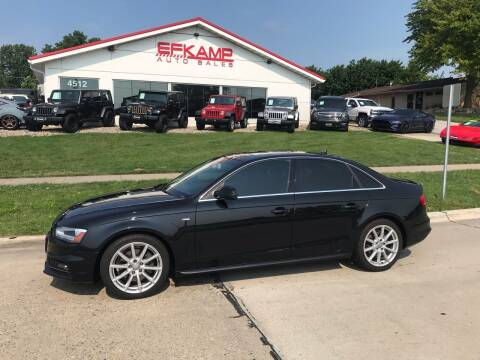 2014 Audi A4 for sale at Efkamp Auto Sales LLC in Des Moines IA