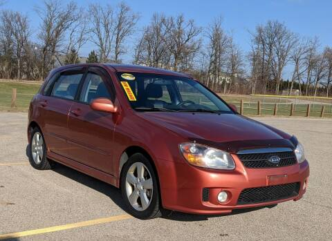 2007 Kia Spectra for sale at Budget City Auto Sales LLC in Racine WI