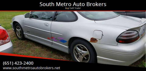 2000 Pontiac Grand Prix for sale at South Metro Auto Brokers in Rosemount MN