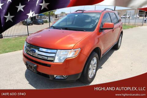 2008 Ford Edge for sale at Highland Autoplex, LLC in Dallas TX