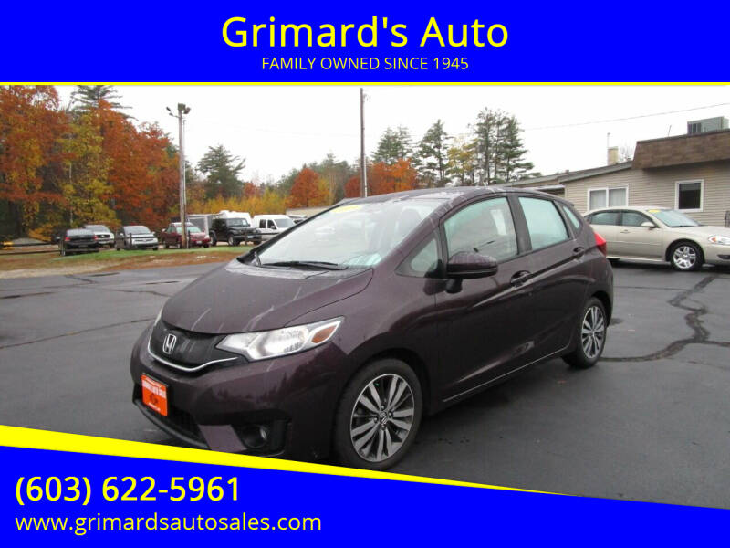 2015 Honda Fit for sale at Grimard's Auto in Hooksett, NH