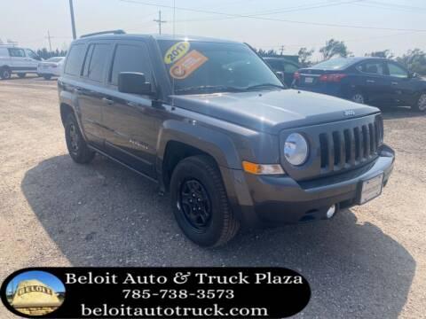 2017 Jeep Patriot for sale at BELOIT AUTO & TRUCK PLAZA INC in Beloit KS
