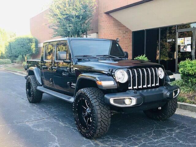 2020 Jeep Gladiator for sale at RPM Motorsports Of Atlanta in Atlanta GA