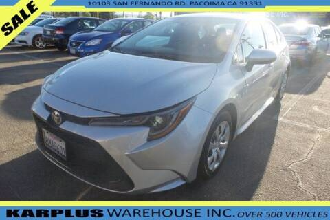 2020 Toyota Corolla for sale at Karplus Warehouse in Pacoima CA