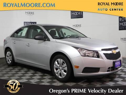 2014 Chevrolet Cruze for sale at Royal Moore Custom Finance in Hillsboro OR