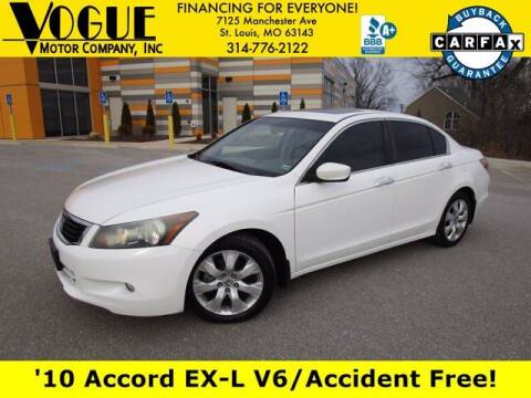 2010 Honda Accord for sale at Vogue Motor Company Inc in Saint Louis MO