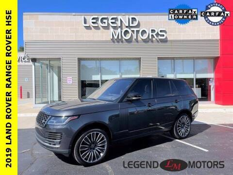 2019 Land Rover Range Rover for sale at Legend Motors of Waterford in Waterford MI