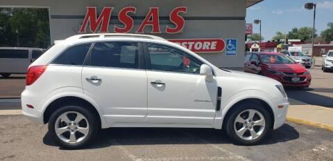 2015 Chevrolet Captiva Sport for sale at MSAS AUTO SALES in Grand Island NE