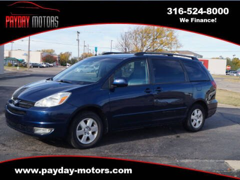 2004 Toyota Sienna for sale at Payday Motors in Wichita And Topeka KS