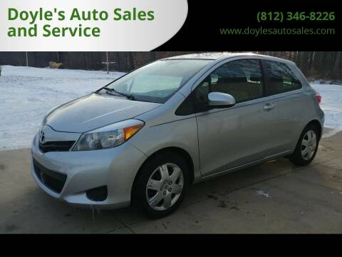2013 Toyota Yaris for sale at Doyle's Auto Sales and Service in North Vernon IN