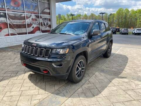 2017 Jeep Grand Cherokee for sale at Tim Short Auto Mall in Corbin KY