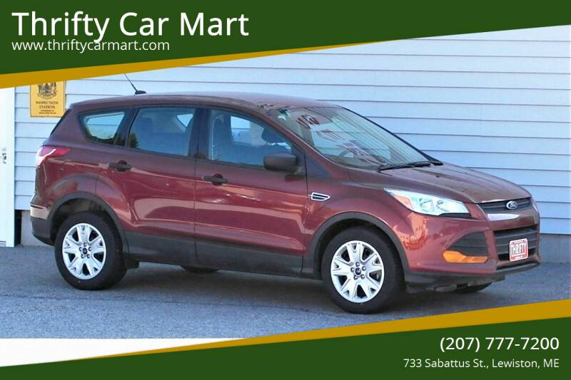 2015 Ford Escape for sale at Thrifty Car Mart in Lewiston ME