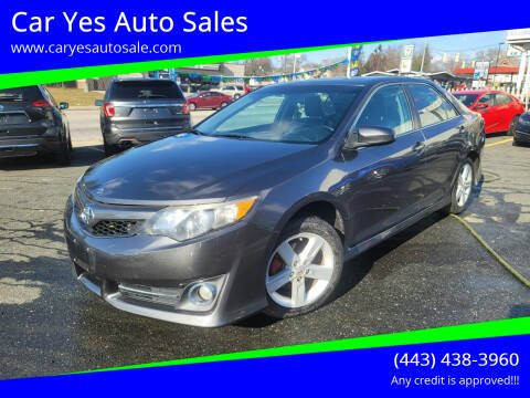 2013 Toyota Camry for sale at Car Yes Auto Sales in Baltimore MD