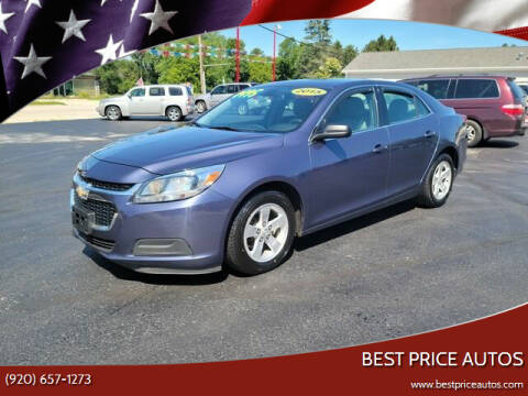 2015 Chevrolet Malibu for sale at Best Price Autos in Two Rivers WI