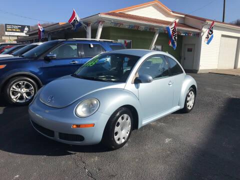 2010 Volkswagen New Beetle for sale at PIONEER USED AUTOS & RV SALES in Lavalette WV
